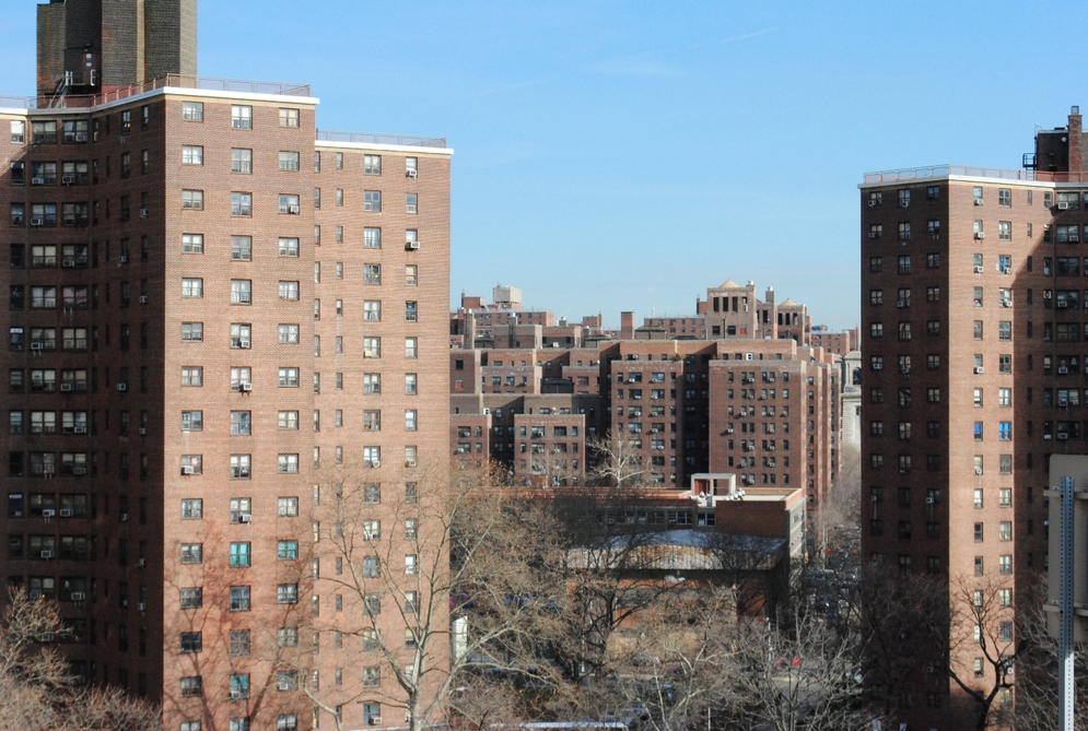 Public housing projects in New York City
